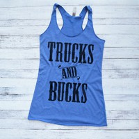 Trucks and Bucks Country Tank Top