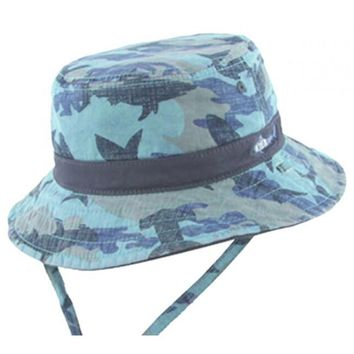 Bucket Hats by Millymook and Dozer: Reef Blue