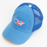 Vineyard Vines - Whale Flag Patch Trucker Hat