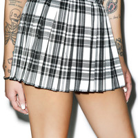 Tripp NYC Micro Mini Pleated Skirt