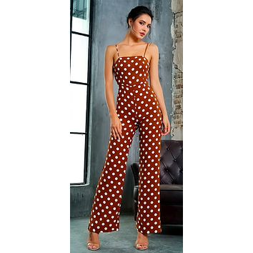 POLKA DOTTIN' PARTY JUMPSUIT