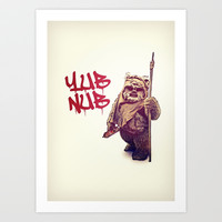Yub Nub Art Print by Rubbishmonkey