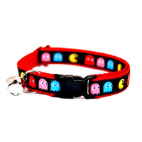 8-Bit Hero / Pac-Man Cat Collar