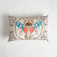 Boho For Good Treasure Pillow by ModCloth
