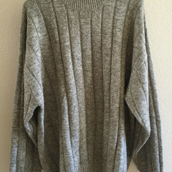 Turtleneck Sweater Oversized 90's Vintage 3XL