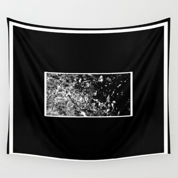 Liquid Forms Wall Tapestry by Derek Delacroix