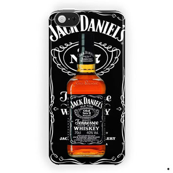 Jack Daniels Bottle Logo For iPhone 5 / 5S / 5C Case