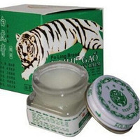 15g/ml Vietnam White Tiger Balm For Headache Toothache Stomachache Vaume Tiger Blanc Cold Dizziness Essential Balm (Color: Green) [8802195468]