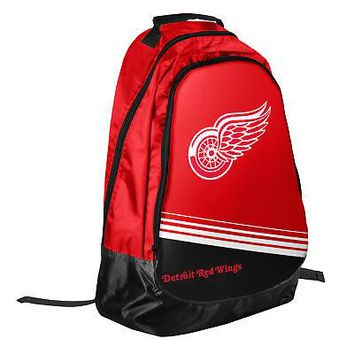 Licensed Detroit Red Wings Official NHL Backpack Core Bag by Forever Collectibles 055254 KO_19_1