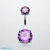 Brilliant Gem Sparkle Belly Ring