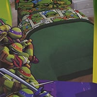 Nickelodeon Teenage Mutant Ninja Turtles TMNT 2pc Twin Sheet Set