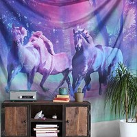 Plum & Bow Wild Horses Tapestry- Multi One