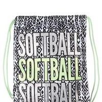 Softball Drawstring Tote | Girls Large Bags Fashion Bags | Shop Justice