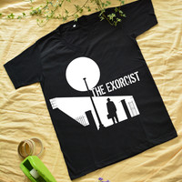 """""""THE EXORCIST"""" print at the middle on T-shirt short sleeve"""