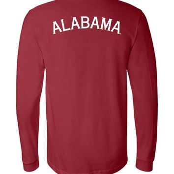 Official NCAA Venley University of Alabama Crimson Tide UA ROLL TIDE! Long Sleeve T-Shirt - 29AL-3