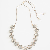 Corinne Adjustable Crystal Statement Necklace
