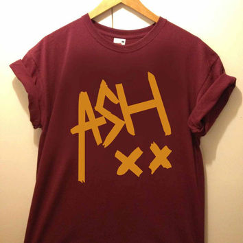 ash signature tshirt for merry christmas and helloween