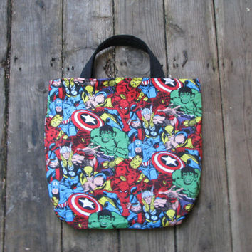 Marvel Comics Tote, Accessories, Purse