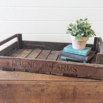 """Magnolia Farms"" Tray - The Magnolia Market"