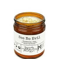 See No Evil Herbal Candle (9oz)
