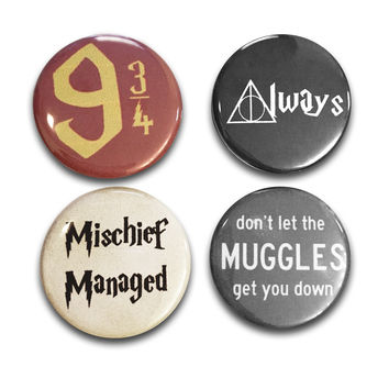 HP Button Pins