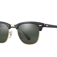 Ray-Ban CLUBMASTER CLASSIC Black , RB3016 | Ray-Ban® USA