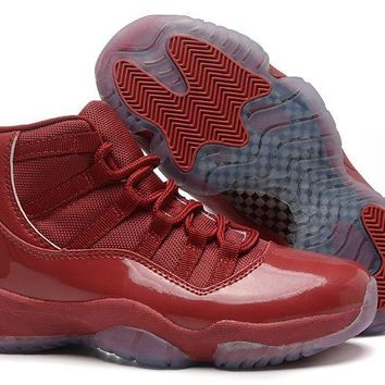 Girls Air Jordan 11 Gs Burgundy Red Online Jordan 11 Burgundy - Beauty Ticks