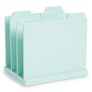 Design Ideas Tab Paper Sorter - Green