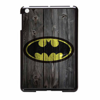 Batman Logo On Wood iPad Mini 2 Case