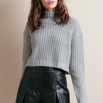 Straight Shot Faux Leather Shorts