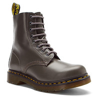 Dr Martens Pascal 8 Eye Boot | Women's - Grey Buttero - FREE SHIPPING at OnlineShoes.com
