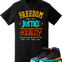 Jordan 9 Dream It Do It Sneaker Tees Shirt to Match - ANY MEANS NECESSARY