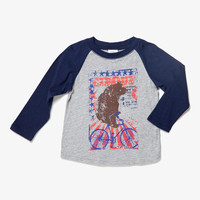 Egg Boys Raglan Sleeve Tee - W4JE1033 - FINAL SALE