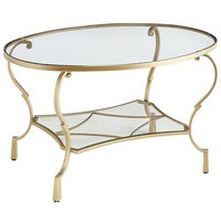 Chasca Coffee Table - Gold