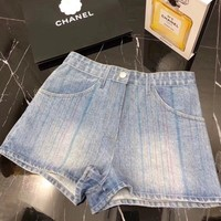 Chanel Fashion Denim Short