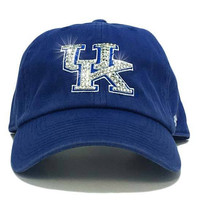 Kentucky Wildcats '47 Brand Adjustable Cap + Custom Swarovski Crystals