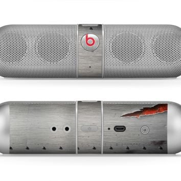The Ripped Red-Core Metal Skin for the Beats by Dre Pill Bluetooth Speaker