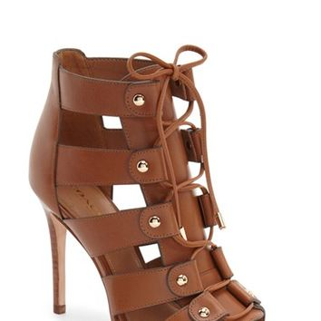 COACH 'Leslie' Lace-Up Sandal (Women) | Nordstrom