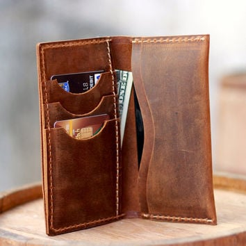 Iphone Wallet / Iphone 5 Leather Wallet / Clutch / Purse / Women's Wallets / Men's Wallets / Bags and Purses / Iphone Wallets / Iphone Case