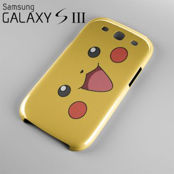 Pokemon Pikachu Case For Samsung Galaxy S3, S4, S5
