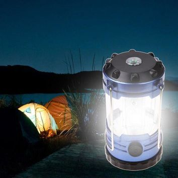 DCCKUH3 Outdoor Camping Lantern Flashlights Lamp With Compass Portable Tent Laterns Adjustable LED Hiking Bivouac Camping Tents Light