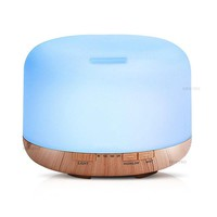 500ml Air Humidifier Essential Oil Diffuser Aroma Lamp Aromatherapy