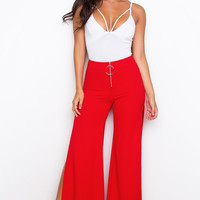Hot Tamale Train Pants - Red