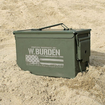Christmas Gifts for Dad Personalized Ammo Box for Men Custom Ammo Can Christmas Gift Ideas Personalized Grandpa Gift Sporting Goods for Xmas