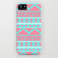 Aztec Pattern 2 iPhone Case by daniellebourland | Society6
