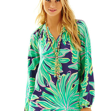 Elsa Top - Tiger Palm - Lilly Pulitzer