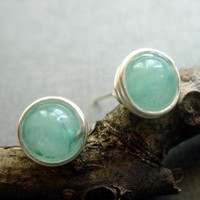 Natural Aquamarine Sterling Silver .. on Luulla