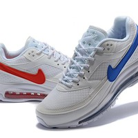 Skepta x Nike Air Max 97BW white/red/blue AO2113-100 36-45