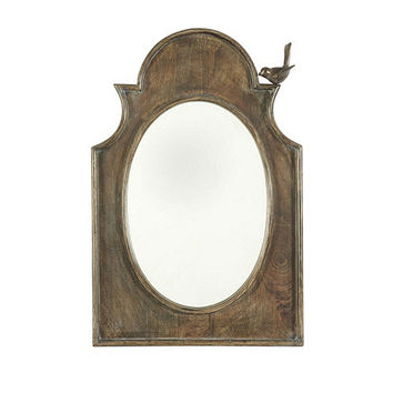 Wood Birdsong Mirror | Ballard Designs