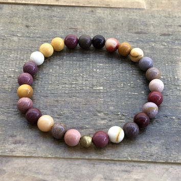 "Mookaite ""Forever Young"" Bracelet"